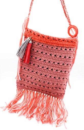 Gehäkelte Tasche Hippielook