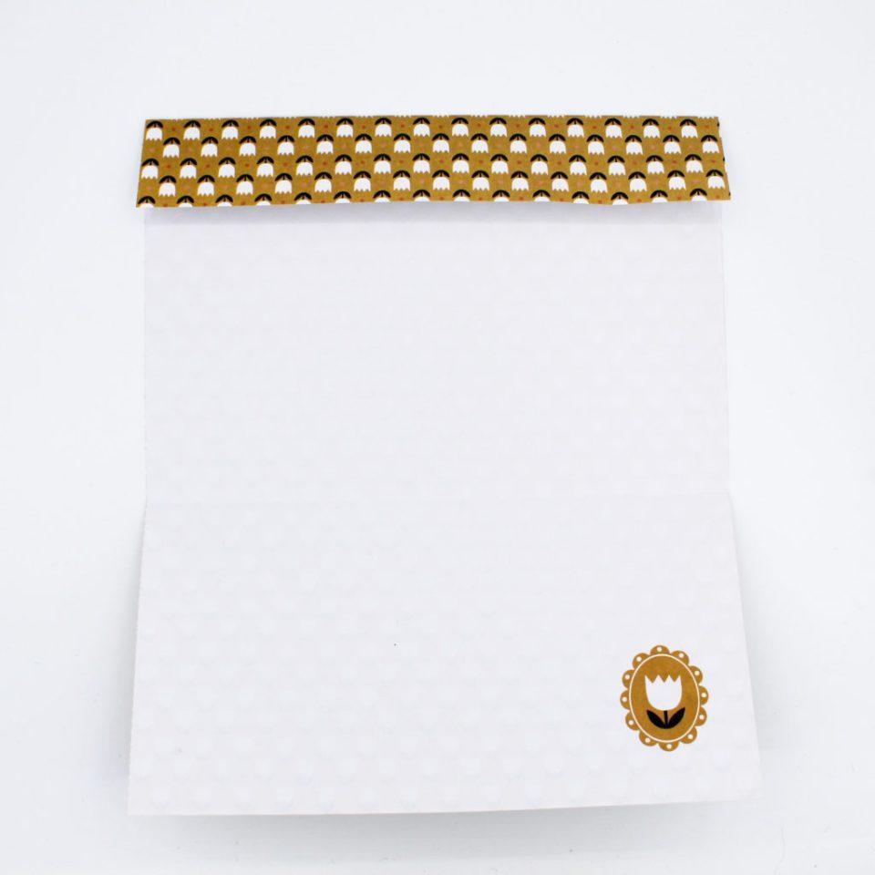Anleitung spitze Papiertüte falten