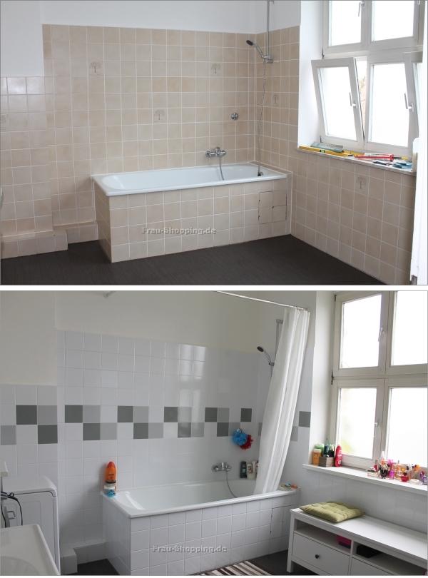 Badezimmer Fliesen Aufkleber