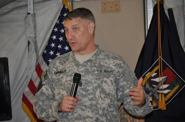 Sgt. Maj. Raymond F. Chandler-1