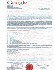 Email Scam: Google Winning Notification