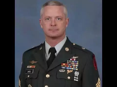 Military Scammer: Gen. Stuart James