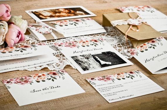 Hochzeitskarten Hochzeitseinladungen Danksagungen