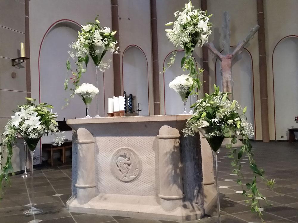 Florist Hochzeit Bergisch Gladbach Brautstrau  Event