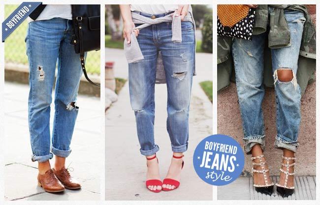 Boyfriend Jeans Style by fraumau
