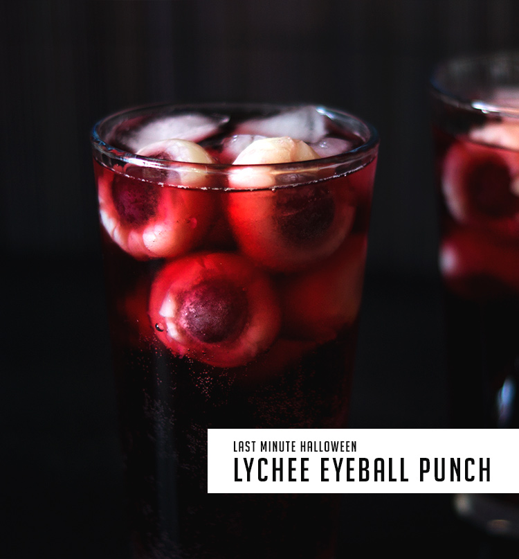 Easy and cheap Halloween Last Minute Idea - Eyeball Punch by fraumau.de