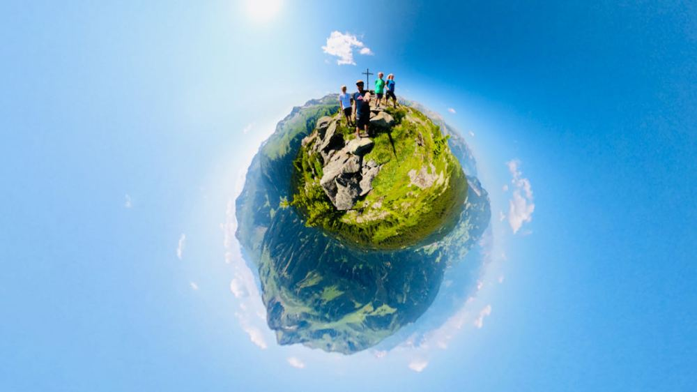 360 Grad auf dem Muttjöchle Gipfel