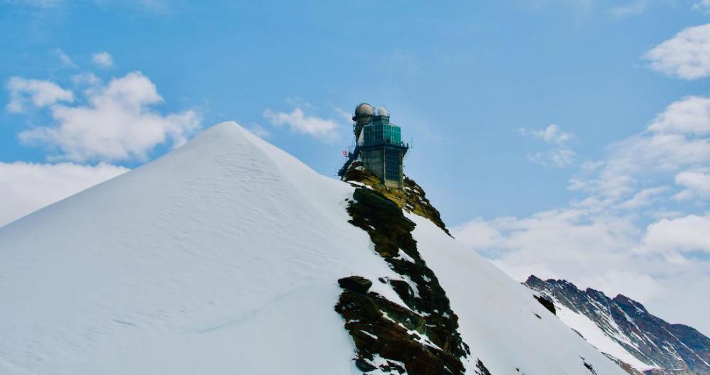 Die Bergstation auf dem Jungfraujoch