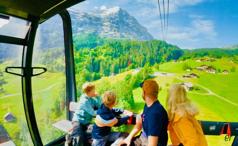 Eiger Express an der Eiger Nordwand
