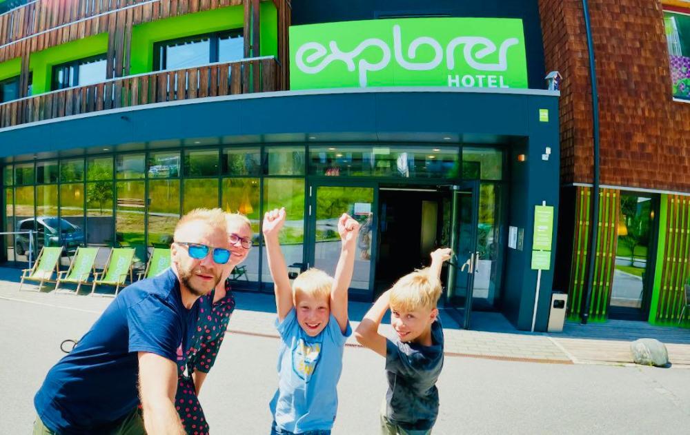 Explorer Hotel Montafon - Fravely