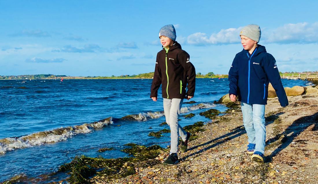 Flo und Ben an der Ostsee