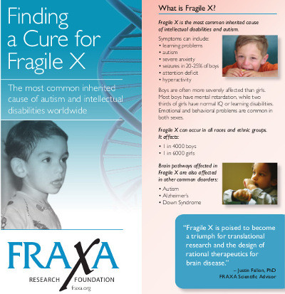 FRAXA Research Foundation Finding A Cure For Fragile X