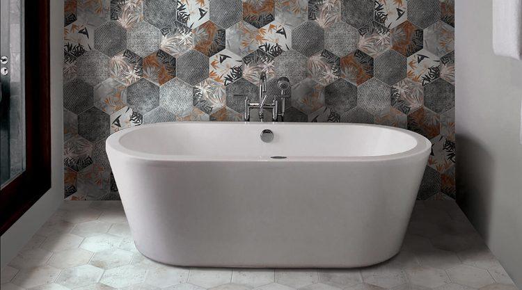 carreaux ciment salle de bains miami