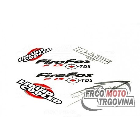 Sticker set Malaguti F15 Firefox