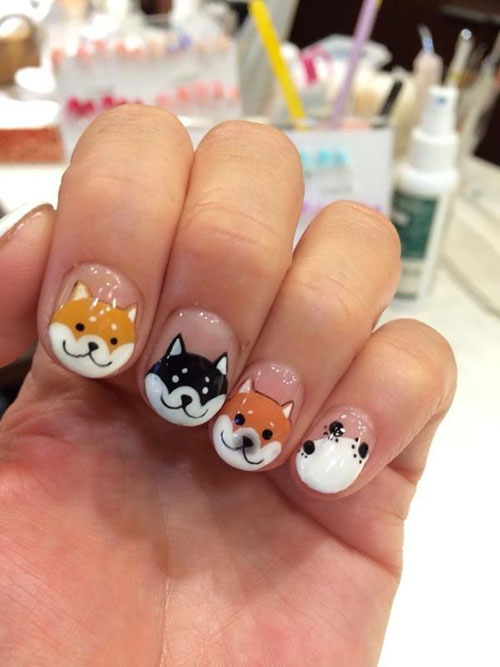 Nail Art Cat Paws Images