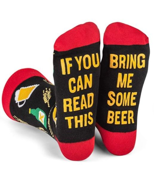 novelty socks as a gifts for beer lovers