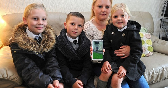 Birmingham family who caught Dudley's Grey Lady on camera