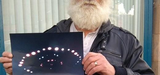 Scotland man snaps photo of UFO