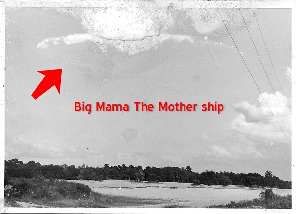 Mothership UFO photo found