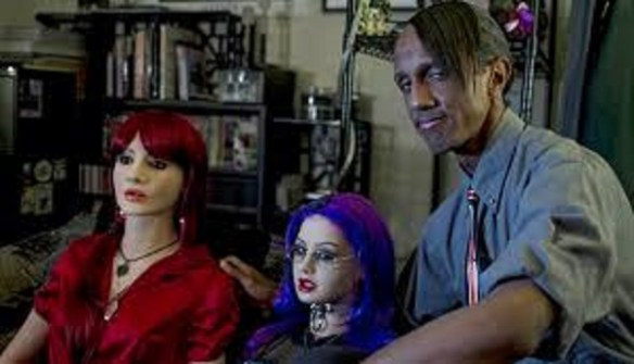Davecat with Dolls