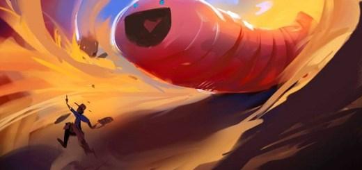 Giant junkyard worm
