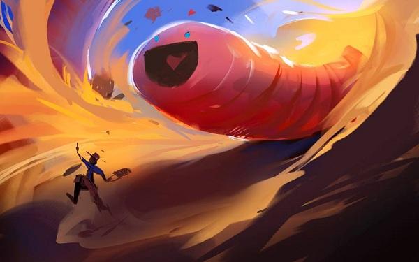 Giant Worm