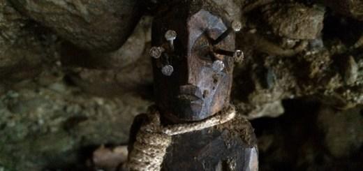 Cursed voodoo statue found