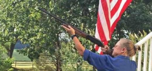 Virginia woman shoots drone dead