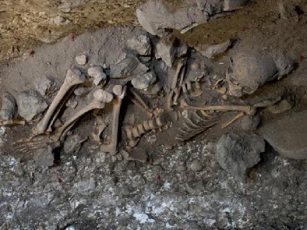 Naia skeleton found