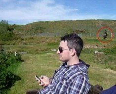 Paul with Welsh ghost