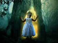 fairy girl in forest