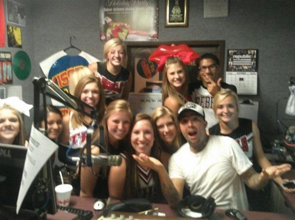 Cheer squad Tascosa Rebels Cheerleaders