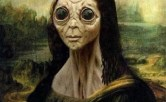 Mona Lisa alien
