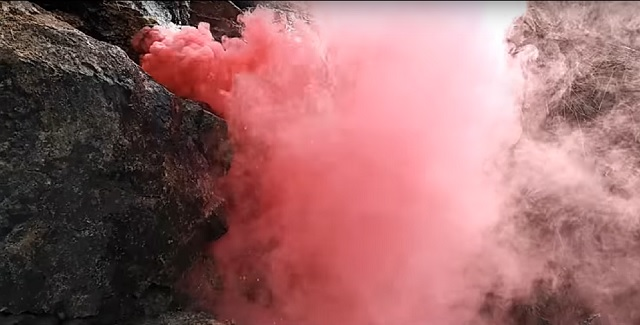 poison gas in cave