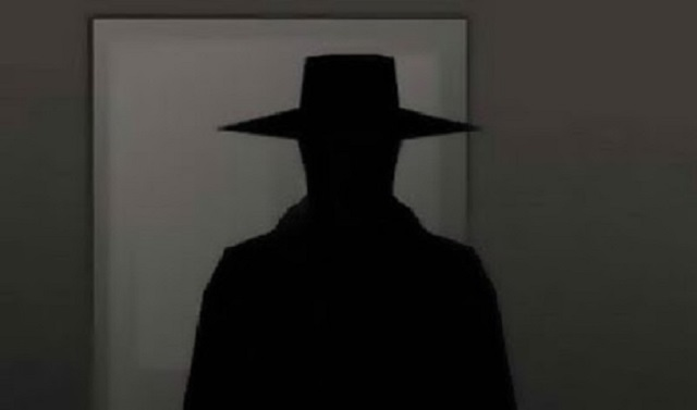 Hat Man in room