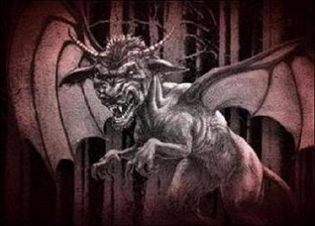 The Jersey Devil illustration