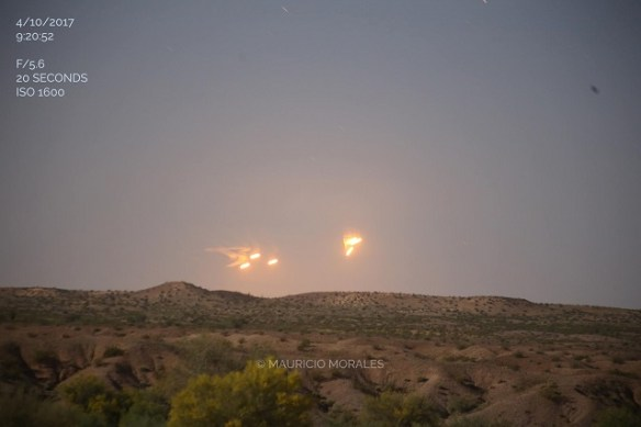 Clearly seen UFOs captured on camera in Arizona