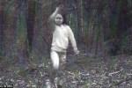 Ghost girl in woods of Cambridge New York