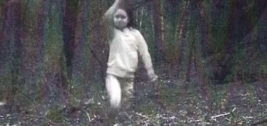 Ghost girl captured by trail camera has locals spooked