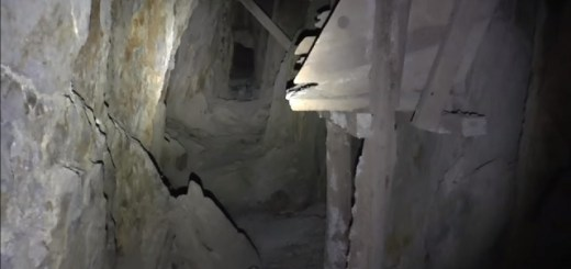 Eerie sounds heard from 150 year old abandoned mine