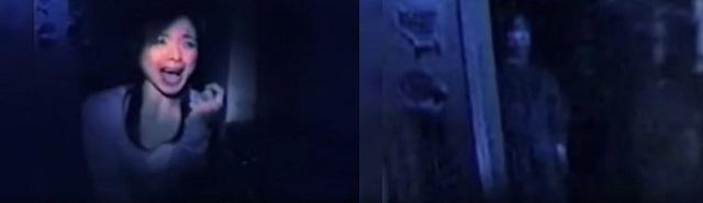 Un journaliste japonais terrorisé de voir un fantôme près d'elle à l'intérieur de l'hôpital