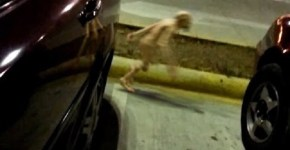 Small alien creature caught on tape in Mexico