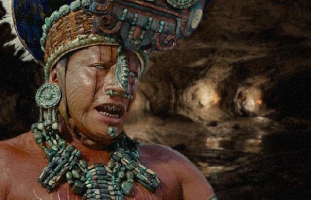 mayan priest underground cave yucatan