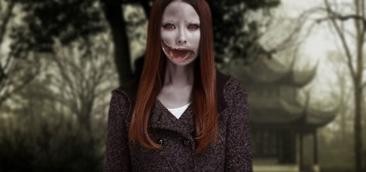 Legend of Kuchisake-onna, the woman with a split mouth