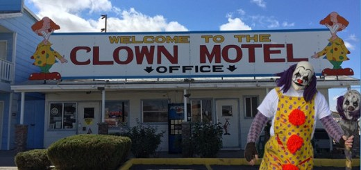 Haunted Clown Motel now up for grabs