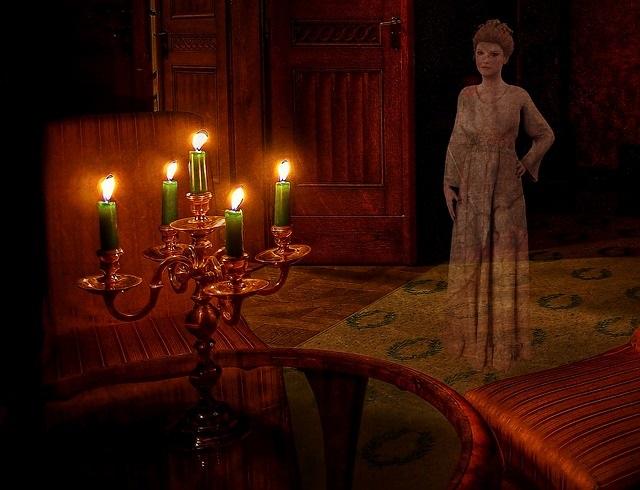 Ghostly nanny spirit