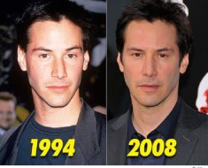 Keanu Reeves age comparison