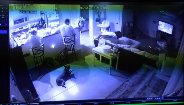 KRQE News 13 Brenna Hernandez and family see ghost