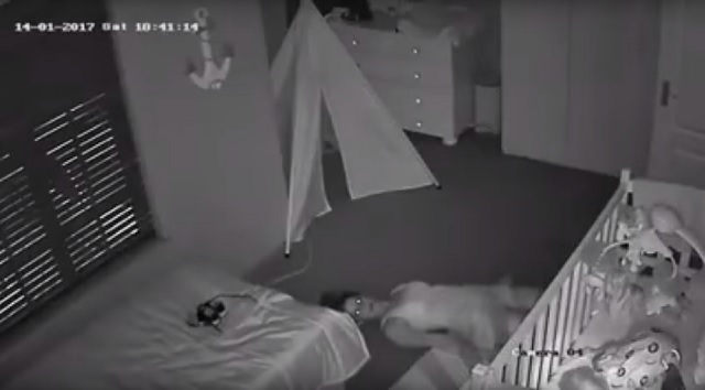 Caryn Morris Mom Slithering Out Of Her Baby's Nursery Goes Viral