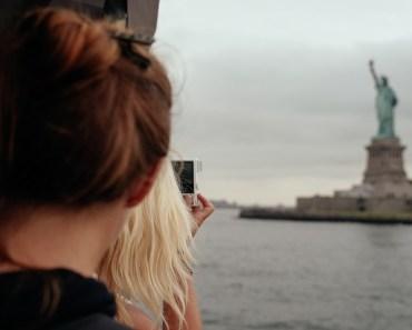 Statue of Liberty photo UFO